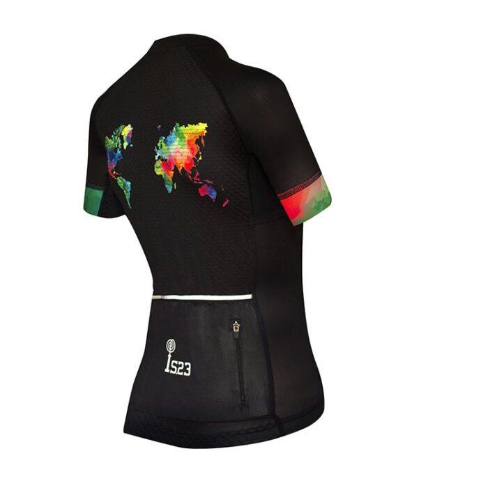 Maillot Corto Atenea Mundi Lateral - IS23 Tienda Online Ciclismo para Mujer