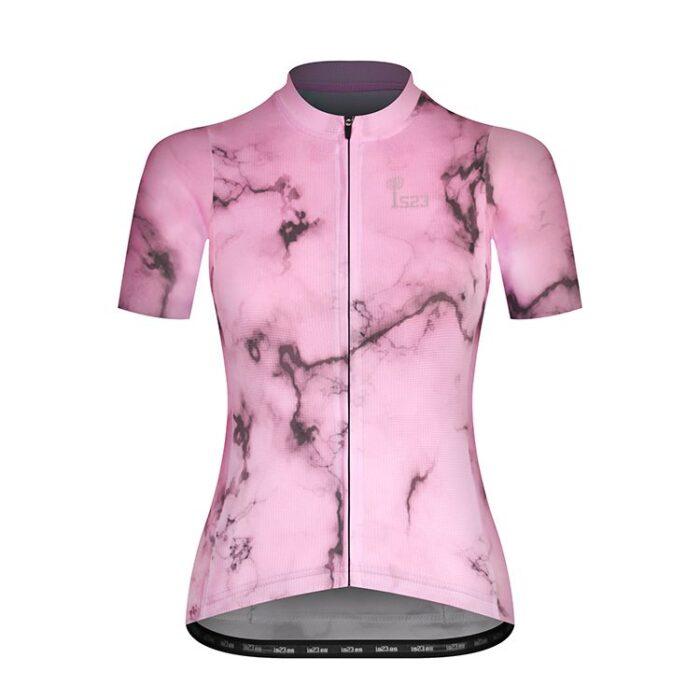 Maillot Corto Aura Carrara Frontal - IS23 Tienda Online Ciclismo para Mujer