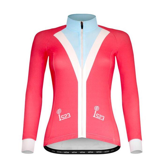 Maillot Largo Aura Cardigan - IS23 Tienda Online Ciclismo para Mujer