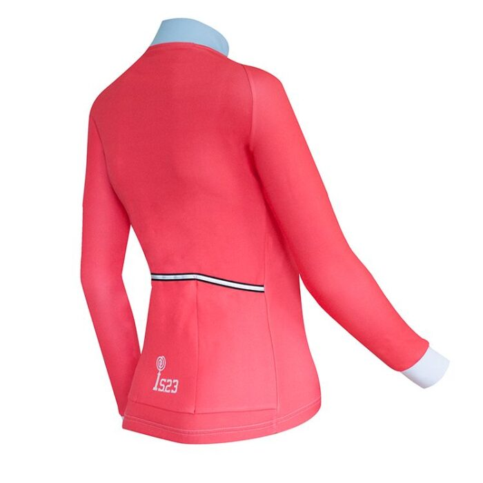 Maillot Largo Aura Cardigan Lateral - IS23 Tienda Online Ciclismo para Mujer