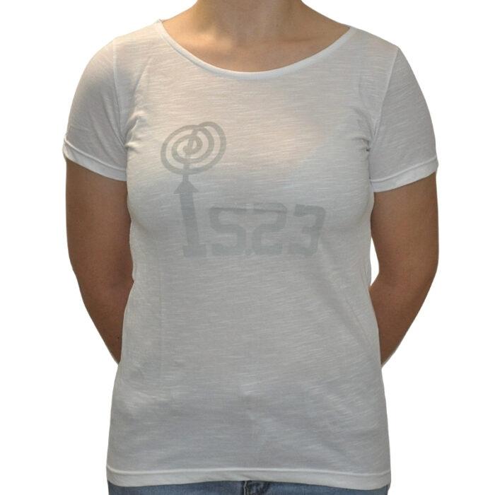 Camiseta Gildan Blanca - IS23 Tienda Online Ciclismo para Mujer