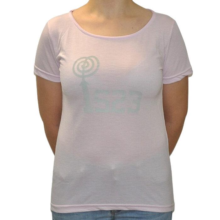 Camiseta Gildan Rosa - IS23 Tienda Online Ciclismo para Mujer
