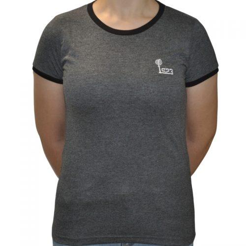 Camiseta Ringer Gris