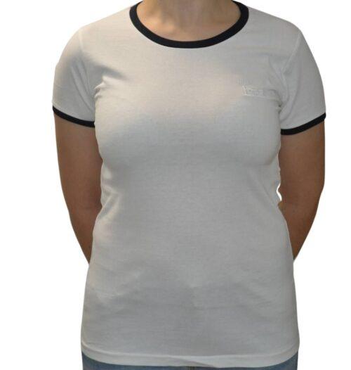 Camiseta Ringer Blanca
